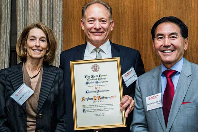 Weill Cornell Alumni Award of Distinction 2016