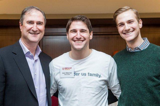 Group of men on Family Day