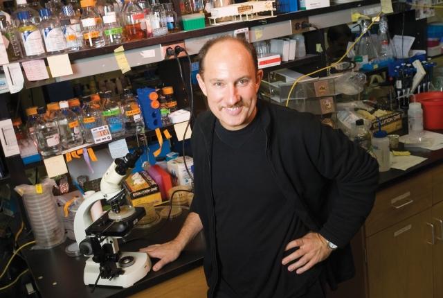 Man in a lab