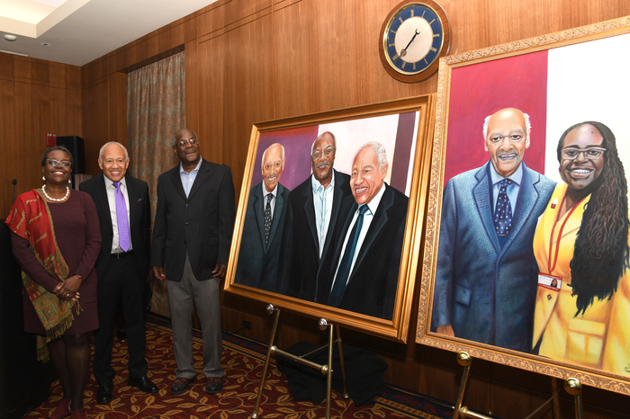 Paintings commissioned by Dr. Daniel Laroche