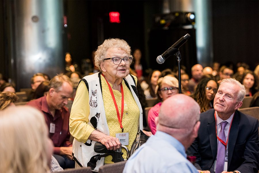 Dr. Mildred Rust (MD '56) Raises Awareness for Medical Student Mental Health at Weill Cornell Medicine Conference